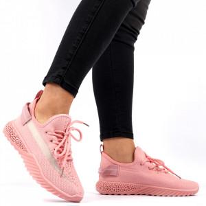 Pantofi Sport pentru dame Cod 1653SM Pink