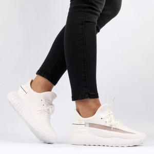 Pantofi Sport pentru dame Cod 1653SM White