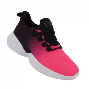 Pantofi sport pentru dame cod DS8305 Fuxia