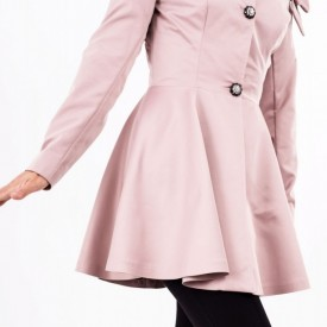 Pardesiu Janice Roz Plămâniu - Cumpără îmbrăcăminte și încălțăminte de calitate cu un stil aparte mereu în ton cu moda, prețuri accesibile și reduceri reale, transport în toată țara cu plata la ramburs - Deppo.ro