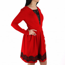 Rochie Braelyn Red