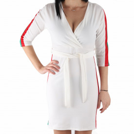 Rochie Fitness Casual White