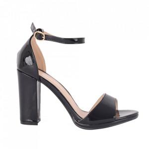 Sandale din piele ecologică cod YX-3 Black