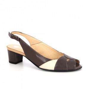 Sandale din piele naturală cod 99 Bej