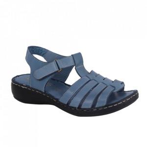 Sandale din piele naturală cod AH/801 Blue