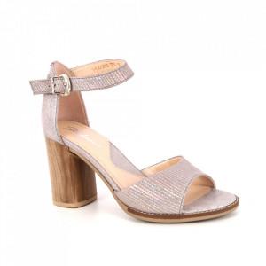 Sandale din piele naturală cod SF1 Beige