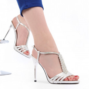 Sandale pentru dame cod 11G9 Silver