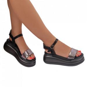 Sandale pentru dame cod 22050-6 Gun