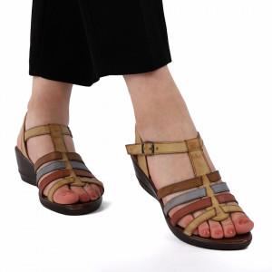 Sandale pentru dame cod 51733 Maro
