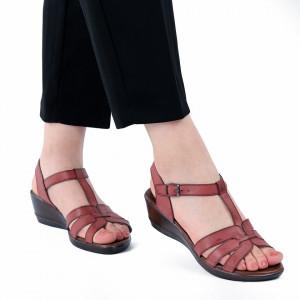 Sandale pentru dame cod 517335 Roși