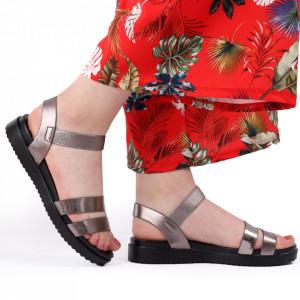 Sandale pentru dame cod 88020 Grey