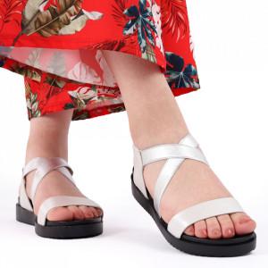 Sandale pentru dame cod 88021 Silver
