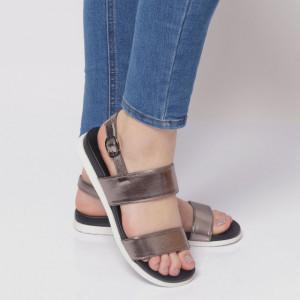 Sandale pentru dame cod AG 072 Pewter