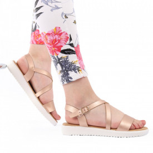Sandale pentru dame cod B33 Champagne
