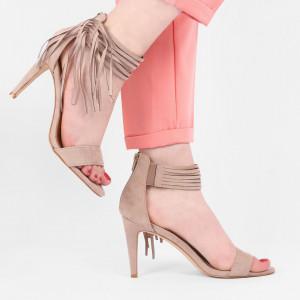 Sandale pentru dame cod B5667 Bej