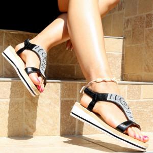 Sandale pentru dame cod B76 Black