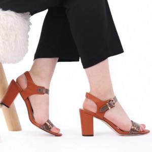 Sandale pentru dame cod J10 Camel