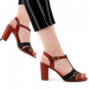 Sandale pentru dame cod J48 Brown