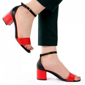 Sandale pentru dame cod L18 Red