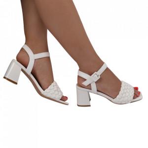 Sandale pentru dame cod M-34 White