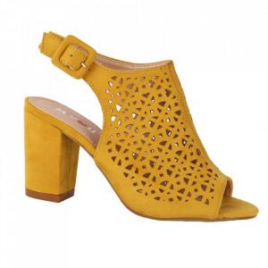 Sandale pentru dame cod M22 Yellow