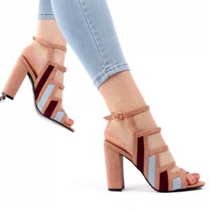 Sandale pentru dame cod M48 Pink