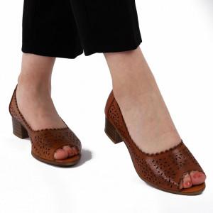 Sandale pentru dame cod P90 Maro