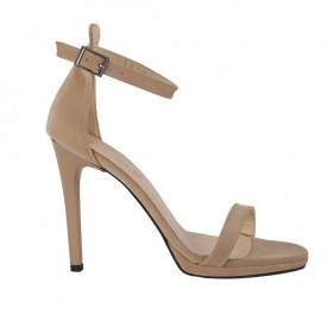 Sandale pentru dame cod WWS Beige