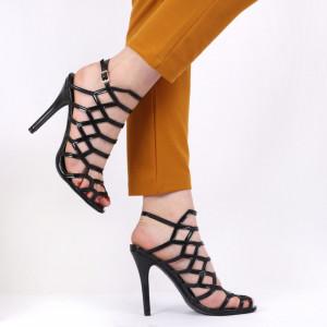 Sandale pentru dame cod YC1413 Black
