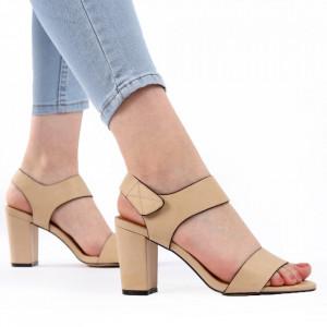 Sandale pentru dame cod Z04 Beige