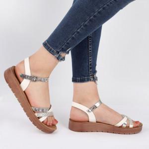 Sandale pentru dame cod Z1288 White