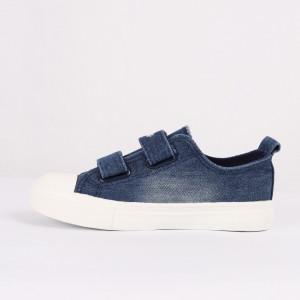 Sneakers pentru băieți cod HT1053 Albastru - Sneakers pentru băieți, foarte comozi, ideali pentru ieșiri si practicarea exercitiilor în aer liber - Deppo.ro