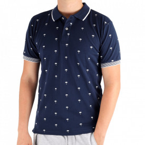 Tricou pentru bărbați Cod BP021 Navy