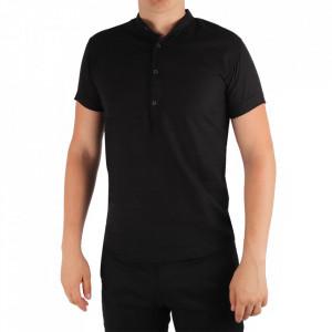 Tricou pentru bărbați Cod TR001 Black