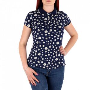 Tricou pentru dame cod TFL10 Blue