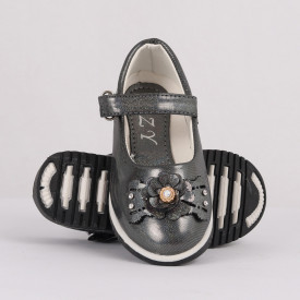 Pantofi pentru fete cod CP67 Gri