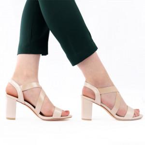 Sandale pentru dame cod 85017 Gold