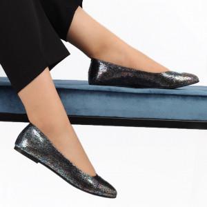Balerini din piele naturală Cod 106 Curcubeu - Balerini damă din piele naturală Foarte confortabili Conferă lejeritate si eleganță - Deppo.ro