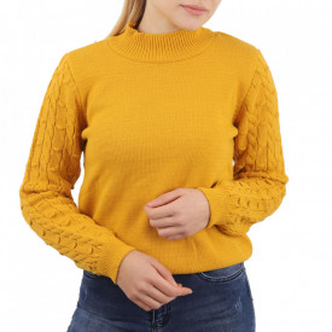 Bluză pentru dame cod F40 Yellow