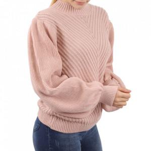 Bluză pentru dame cod F65 Pink