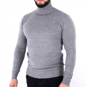 Bluză Xander Grey - Bluza simplă este cel mai versatil articol vestimentar din sezonul rece, o piesă cu reputaţie a stilului casual având compoziţia 81% Viscoză şi 19% Nailon - Deppo.ro
