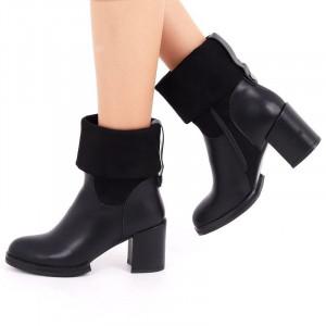 Botine Paty Negre - Cumpără îmbrăcăminte și încălțăminte de calitate cu un stil aparte mereu în ton cu moda, prețuri accesibile și reduceri reale, transport în toată țara cu plata la ramburs - Deppo.ro