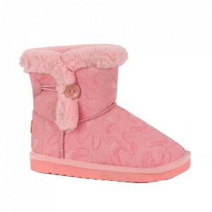 Cizme pentru fete cod N223 Pink