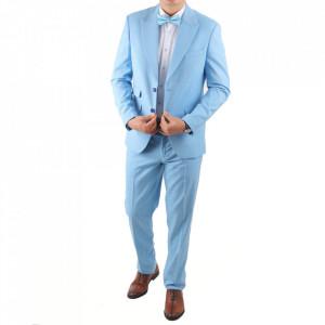 Costum classic fit 2100-4 Albastru