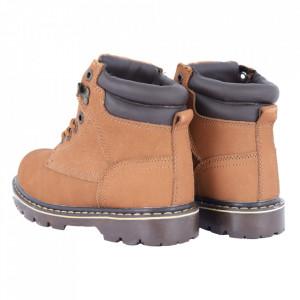 Ghete pentru bărbați cod WD815 Brown - Ghete din piele naturală, stil casual. - Deppo.ro