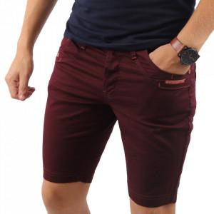 Pantaloni scurți pentru bărbați cod FGKK05 Wine