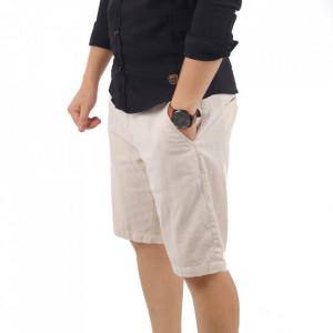 Pantaloni scurți pentru bărbați cod K-2070 Beige