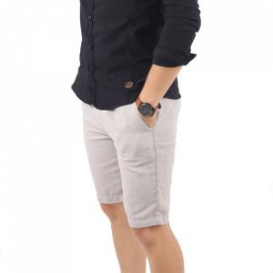 Pantaloni scurți pentru bărbați cod K-2072 Beige