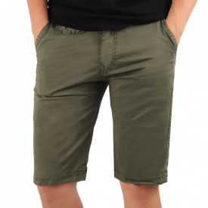 Pantaloni scurți pentru bărbați cod KS22-145 ArmyGreen