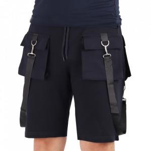 Pantaloni scurți pentru bărbați cod SNR2 Navy